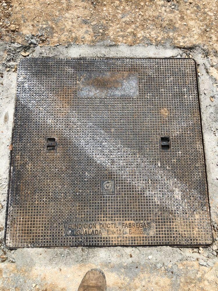 Tampas Ferro Fundido B125