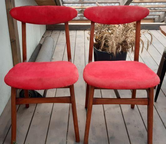 Krzesła prl Hałas