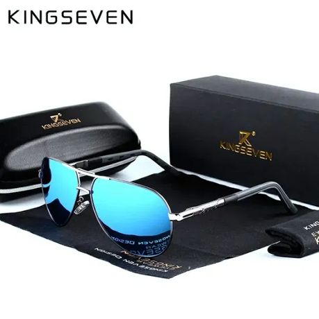 Okulary przeciwsłoneczne pilotki KINGSEVEN UV400 polaryzacja