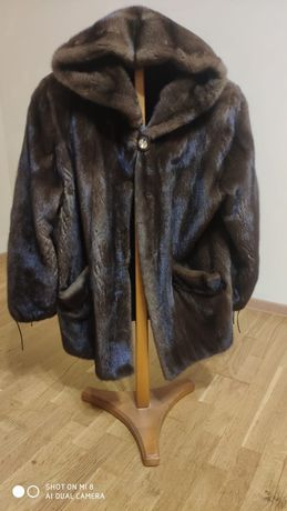 Шуба норковая Scandinavia Furs 58 размер