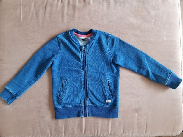 bluza typu szwedka Endo r. 104 a' la dzinsowa