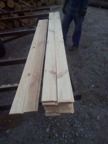 Вагонка деревянная толщина 16мм.