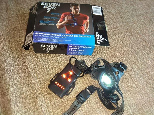 Akumulatorowa lampka do biegania
