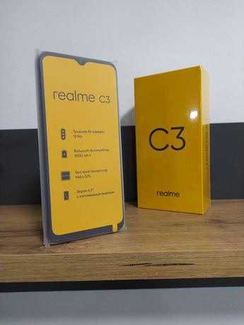 Realme c3 3/32 global version