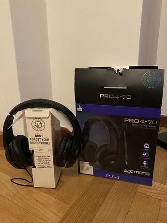 Headset PS4 PRO4-70 novos