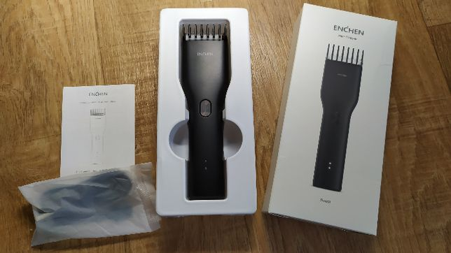 Аккумуляторная машинка триммер для стрижки волос Xiaomi ENCHEN