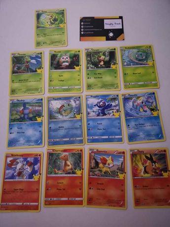 Cartas Pokémon McDonald's 2021