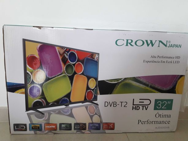 Televisão  Crown 81cm Nova
