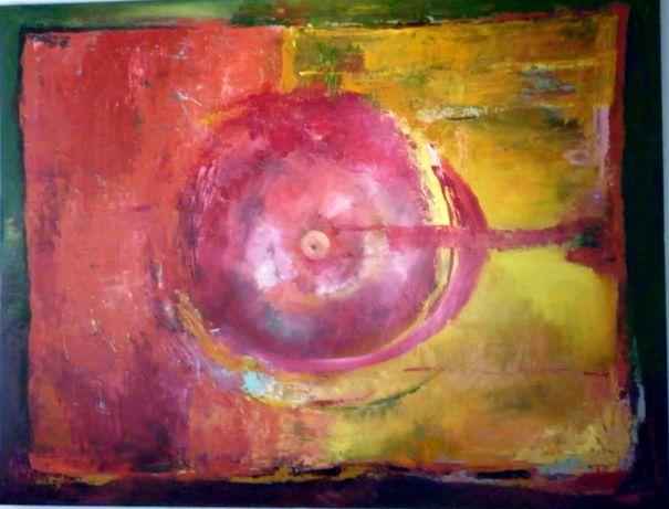 """''Czerwony""""-Abstrakcja 130/100"""