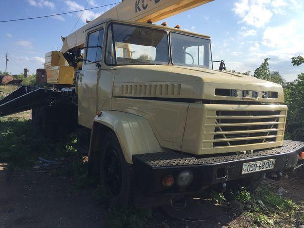 кран автокран КС 3575 Краз
