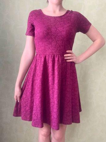 Платье с красивым вырезом на спине