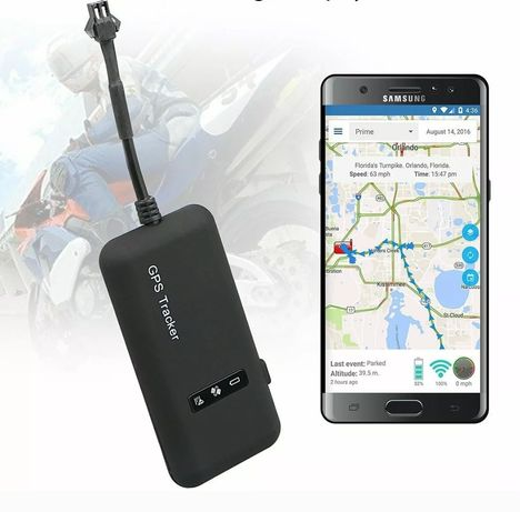 Localizador com GPS para motas (Precisão exacta) Novo