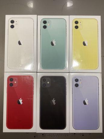 Nowy Zapak. IPhone 11 64GB BLACK , WHITE , YELLOU !!! Kup teraz 2649zl
