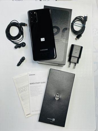 Samsung S20+ Cosmic Black 128 Gb czarny gwarancja