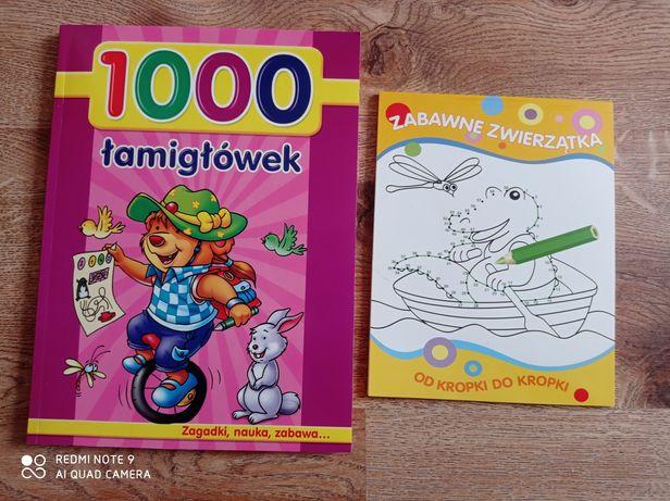 1000 łamigłówek dla dzieci oraz połącz kropki