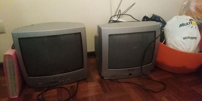 2 Tv's por 25€, com comando e TDT