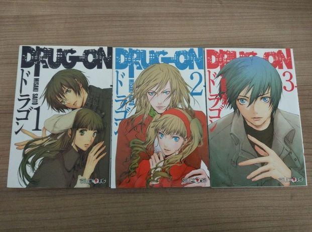 Manga Drug-On Misaki Saitō