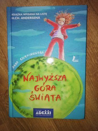 Najwyższa góra świata, Anna Onichimowska