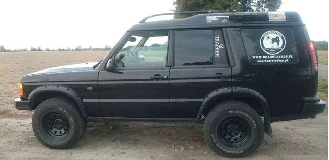 Land Rover Discovery 2 Porzeżenia Nadkoli