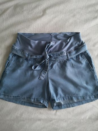 Szorty/ spodenki ciążowe dżinsowe H&M rozmiar M