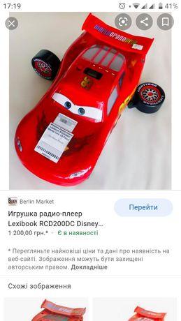 Игрушка радио-плеер DISNEY CARS CD PLAYER.