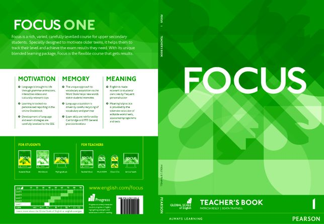 Книга Focus 1 Teacher's Book , PDF формат