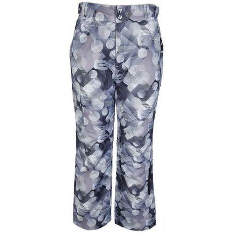 4F FOB rozmiar M spodnie snowboardowe narciarskie szare print grey