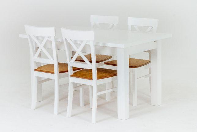 Zestaw mebli stół Janek, krzesło Krzyż