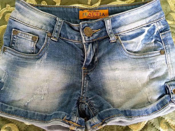 Шорты джинсовые для девочки подростка