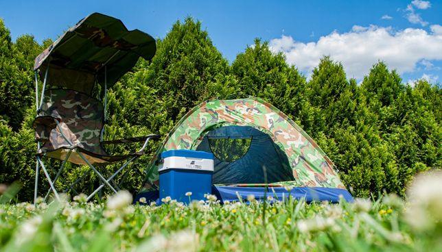Duży Namiot Turystyczny, wędkarski 4 Osobowy Moro Iglo Biwak