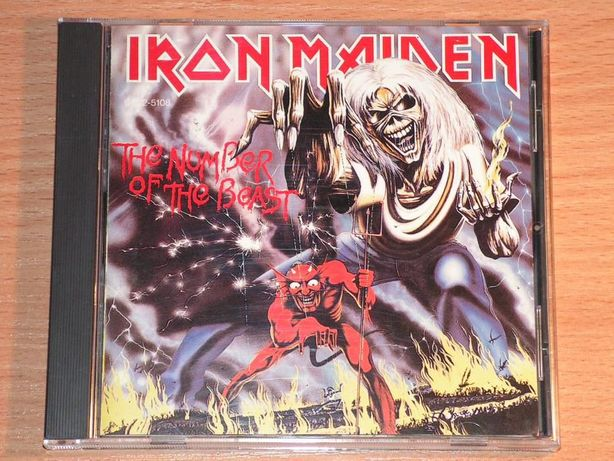 Iron Maiden - The Number Of The Beast CP32-5108 Japan (black triangle)