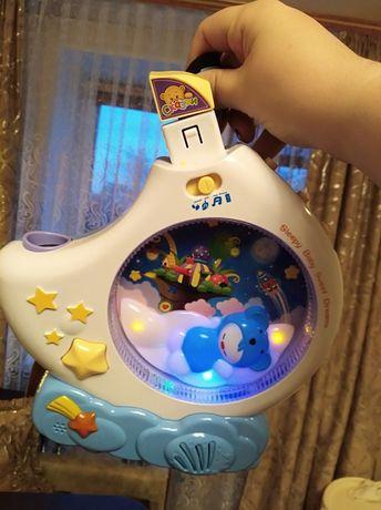 Дитячий музичний проектор