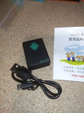 GPS трекер A8 Mini GSM маячок авто сигнализация квартира