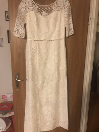 Suknia ślubna BOHO rustykalna 3 w 1