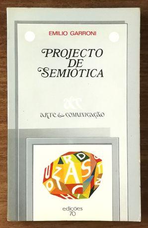 projecto de semiótica, emilio garroni, edições 70