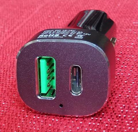Ładowarka samochodowa BlitzWolf BW-C7 USB-C Quick Charge QC 2.0
