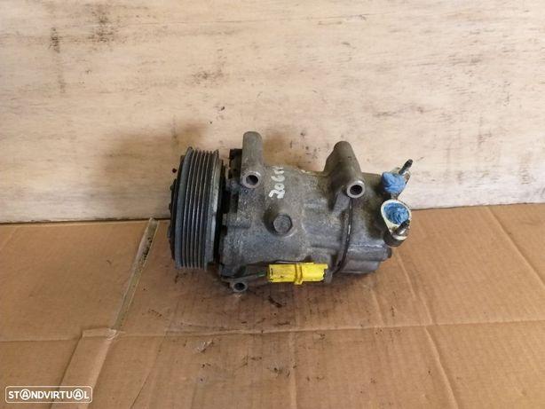 Compressor ar condicionado Peugeot 206 ee 2.0 Gasolina 2005 - 9655191580