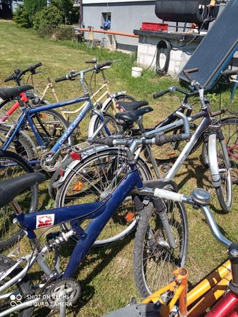Używane rowery z Niemiec