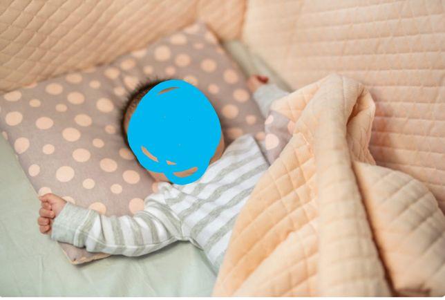 Ochraniacz do łóżeczka poszewka na kolderke i poduszke