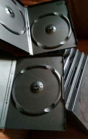 Caixas plasticas para DVD's