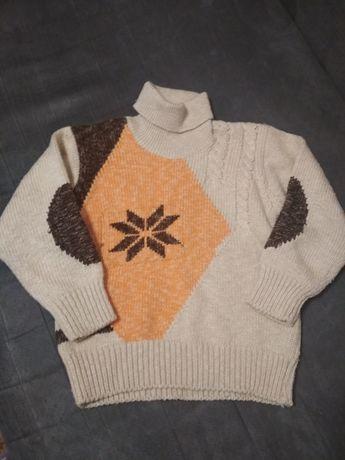 Кофта свитер на 5-6лет