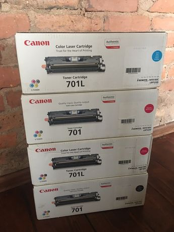 Toner Cartridge 701L Canon Nowe