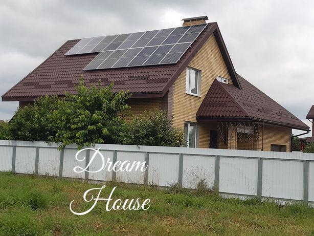 Дом новый с гаражом 195 м + гостевой дом Александровка (БЕЗУГЛОВКА)