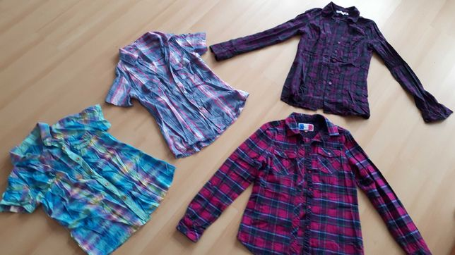 15 worków różnych ubrań
