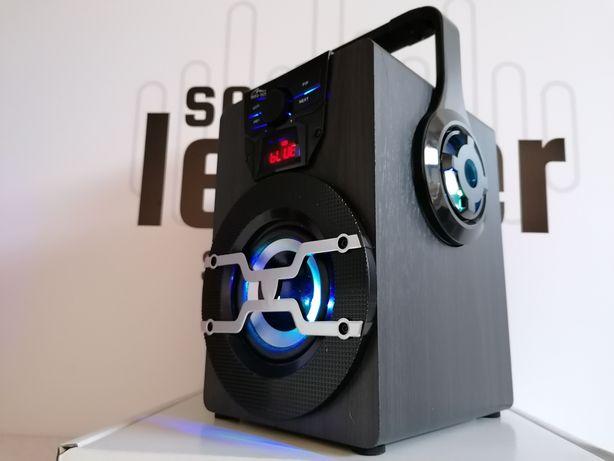 Mocny głośnik karaoke bluetooth bezprzewodowy radio odtwarzacz mp3