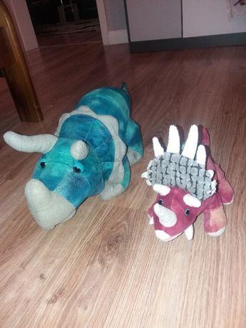 Dinozaury pluszaki Triceratops