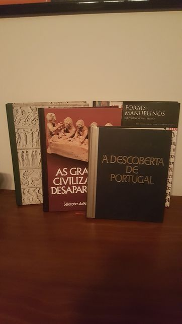 Livros Históricos (de Portugal, da Humanidade e das Civilizações)