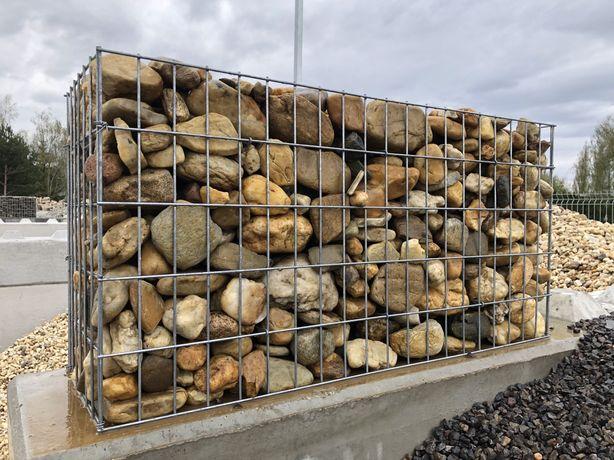 Kamień gabionowy różne rodzaje ! Kora, łupek, żwir, kostka