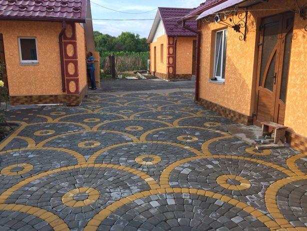 Встановлення бруківки і різні бетонні вироби