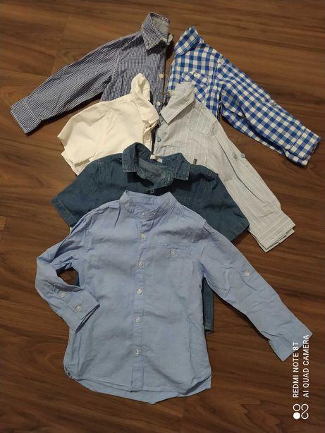 Zestaw koszul dla chłopca 98-104